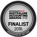 2016 Finalist - Bookkeeper of the Year