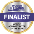 2017 Finalist - Office Administrator of the Year