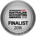 2018 Finalist - Bookkeeping Firm of the Year