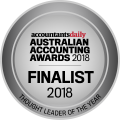 2018 Finalist - Thought Leader of the Year